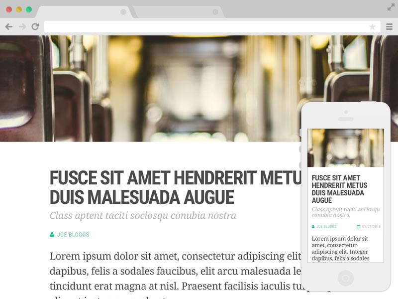 Free Responsive Website Templates | Free Website Templates ...